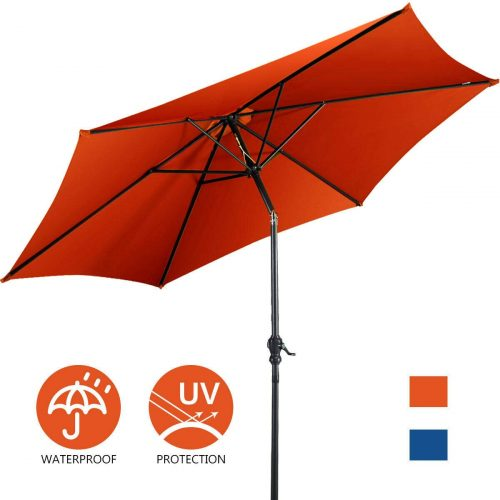 Giantex 9ft Patio Umbrella Outdoor, Market Table Umbrella