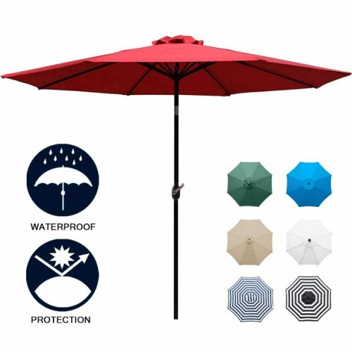 Sunnyglade 9' Patio Umbrella Outdoor Table Umbrella