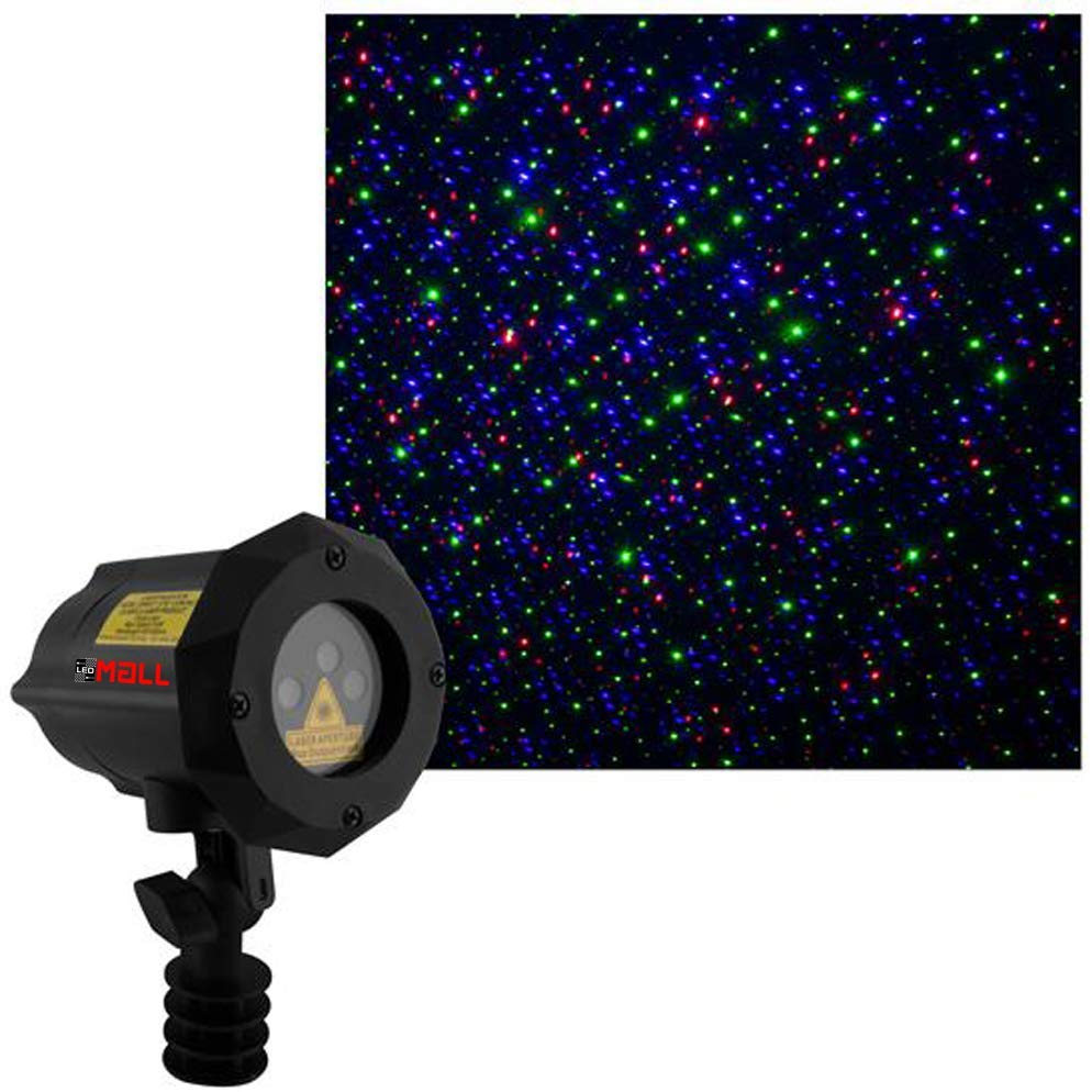 Moving Firefly LEDMALL RGB Outdoor Garden Laser Christmas Lights - Outdoor Laser Lights For Christmas