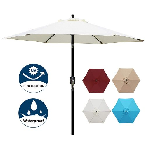 Blissun 7.5 ft Patio Umbrella