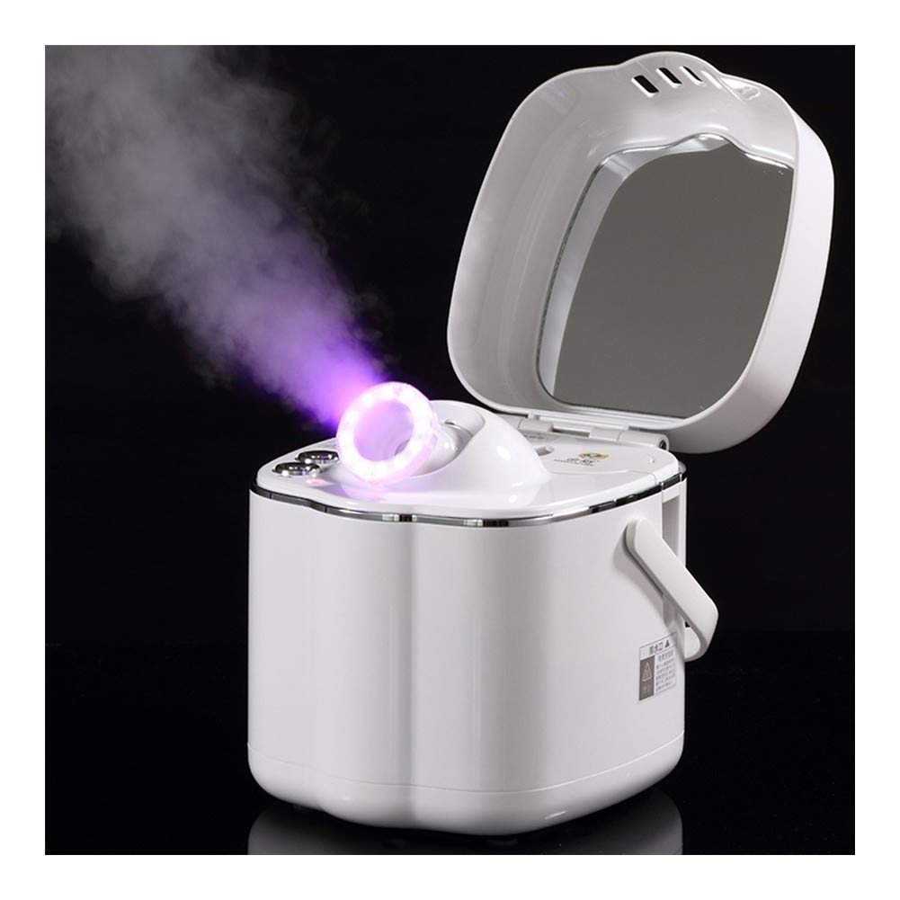 Portable Home Use Beauty Salon Infrared Led Therapy Deep Cleaning Facial Steamer Vaporizer Sauna Spa Hot Thermal Spray Steamer B085RNXHJ5