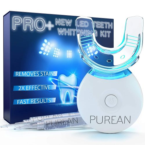Purean Teeth Whitening Kit with LED Light