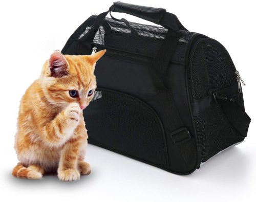 much Cat Carrier Soft-Sided Pet Travel Carrier for Cats