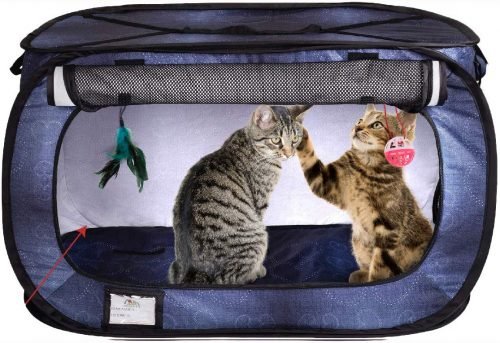 Cat Crate, Stress-Free Travel Cat Kennel