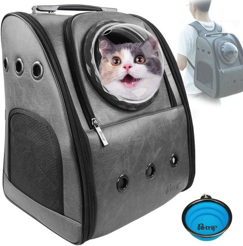 PETRIP Cat Carrier Cat Backpack Carrier for Large Cats