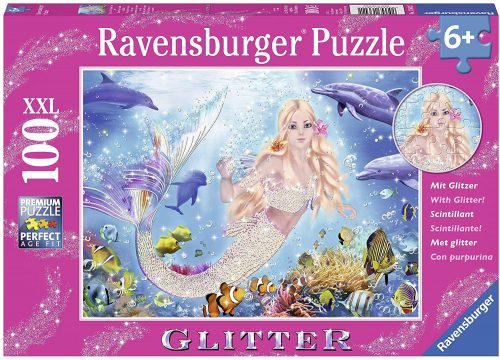 Ravensburger Mermaid and Dolphins Glitter