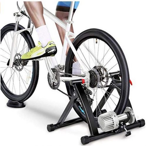 Topeakmart Indoor Bicycle Bike Trainer Exercise Stand Training Wheels