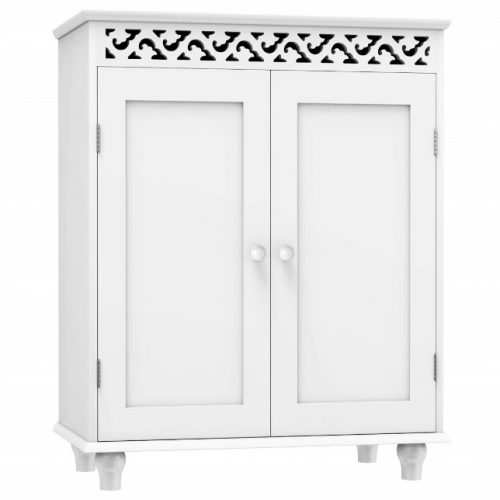 Tangkula Floor Cabinet, Kitchen Storage Cabinet