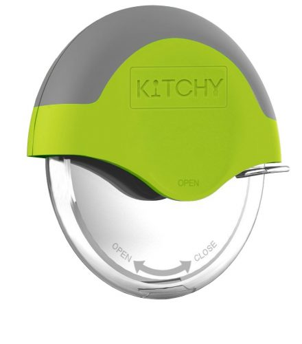 Kitchy Pizza Cutter Wheel - Super Sharp and Easy To Clean Slicer - Cool Kitchen Gadgets