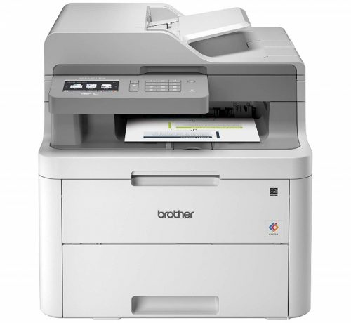 Brother MFC-L3710CW Compact Digital Color All-in-One Printer Providing Laser Printer Quality Results