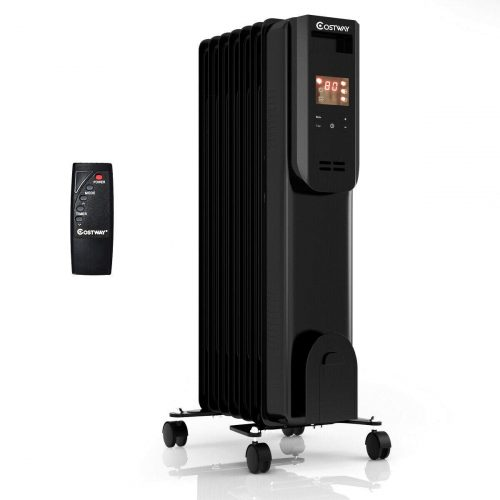COSTWAY Portable Oil-Filled Heater