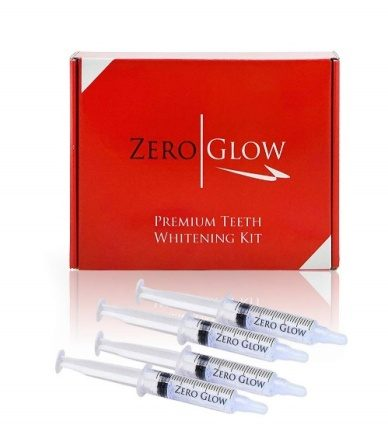 Zero glows whitening kit