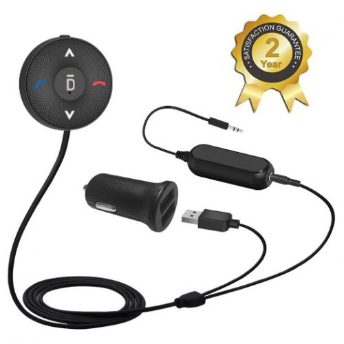 Besign BK03 Bluetooth 4.1 Car Kit for Hands-Free Talking
