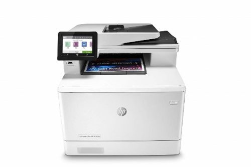 HP Color LaserJet Pro Multifunction M479fdw Wireless Laser Printer with One-Year