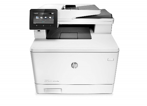 HP LaserJet Pro M477fdw All-in-One Wireless Color Laser Printer with Double-Sided Printing