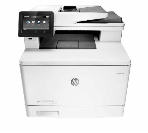 HP LaserJet Pro M477fnw All-in-One Wireless Color Laser Printer with Built-in Ethernet