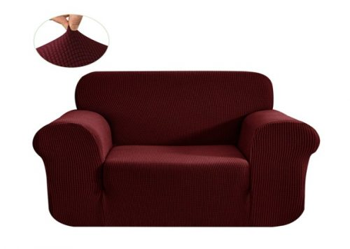 CHUN YI Stretch Sofa Slipcover 1-Piece Couch Cover Furniture