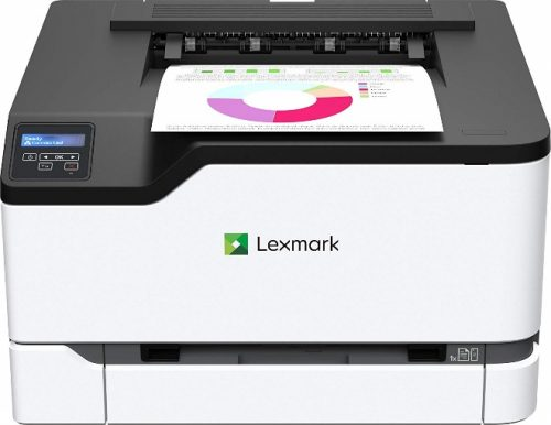 Lexmark C3326dw Color Laser Printer with Wireless Capabilities, Standard Two-Sided Printing
