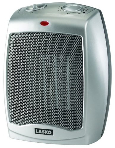 Lasko 754200 Ceramic Portable Space Heater with Adjustable Thermostat - Electric Heaters