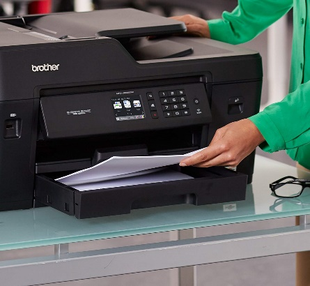 Brother MFC-J6530DW All-in-One Color Printer, Wireless Connectivity, Automatic Duplex Printing - A3 Laser Printer