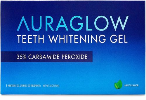 Aura glow teeth whitening kit