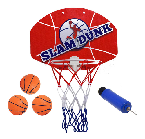 Slam Dunk Mini Basketball Hoop Set
