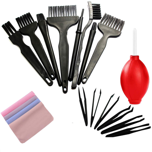 Small Anti-Static ESD Safe Cleaning Dust Brush Kit - Laptop Cleaning Kit