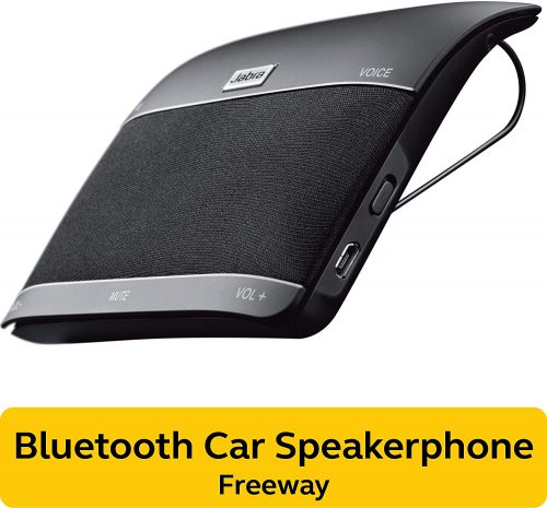 Jabra 100-46000000-02 Freeway Bluetooth In-Car Speakerphone