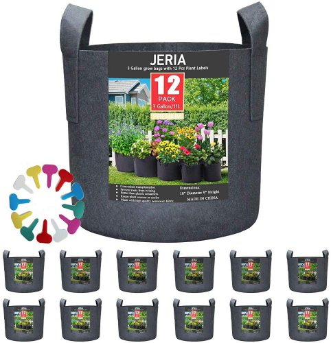 JERIA 12-Pack 3 Gallon