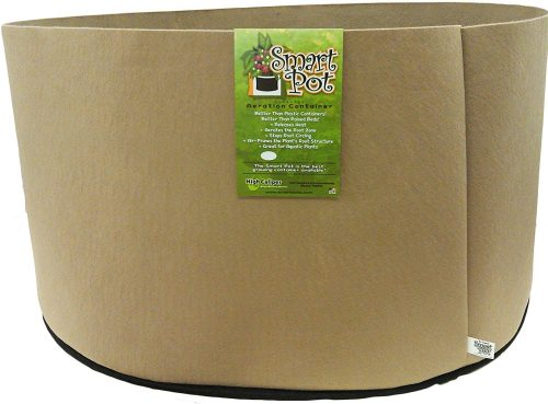 Smart Pots 100-Gallon Smart Pot Soft-Sided Container, Tan