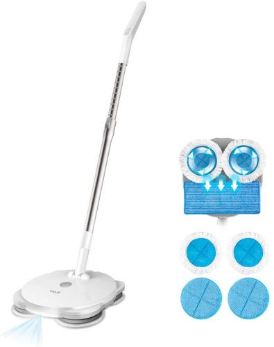 Enlif cordless electric spin mop