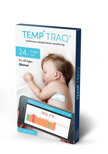 TempTraq 24-Hour Intelligent Baby Fever Monitor with Wireless Alerts