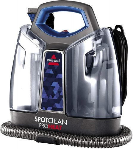 BISSELL Spot Clean Pro-Heat Portable Spot and Stain Carpet Cleaner, 2694, Blue