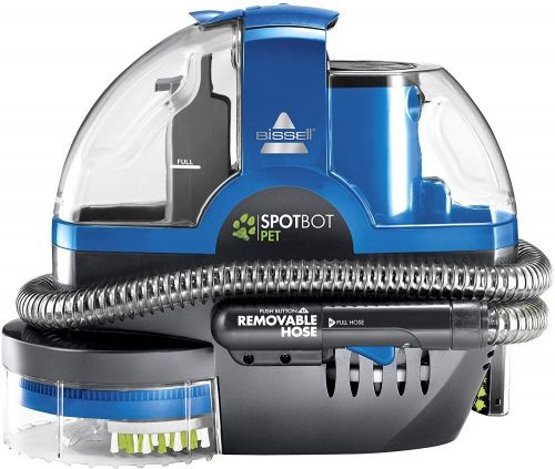 Bissell Spot-Bot Pet handsfree Spot and Stain Portable Deep Cleaner, Blue