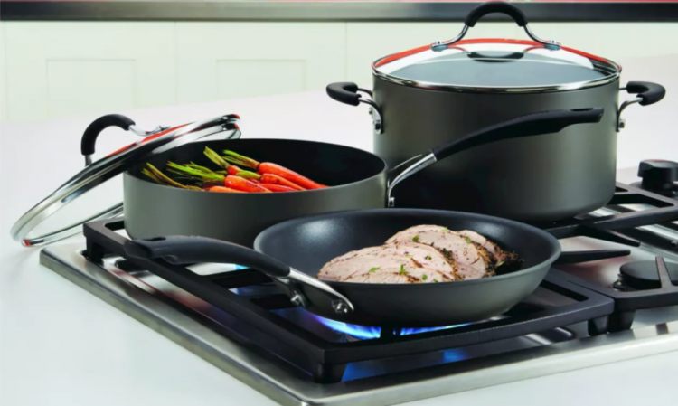 anodized cookware set