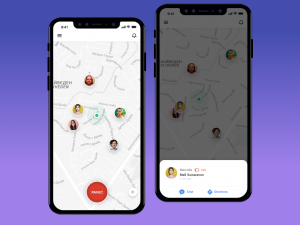 Is location sharing on mobile secure or not?