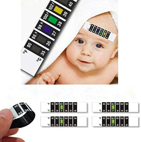 Besay 10pcs Baby Kids Forehead Strip Head