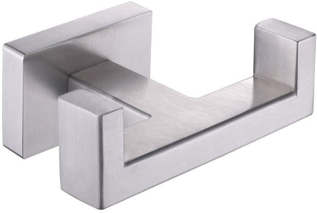 Double Towel Hook, Aomasi SUS304 Stainless Steel Dual Robe Hook