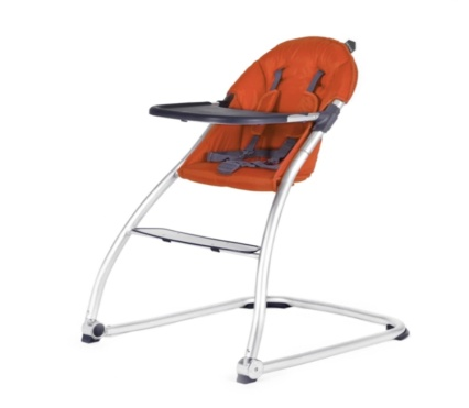 BabyHome Eat High Chair, Clay - Baby Booster Chair