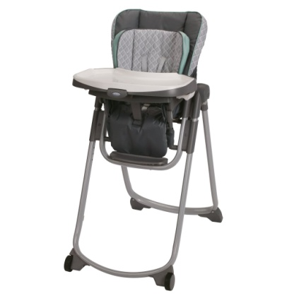 Graco Slim Spaces High Chair, Manor - Baby Booster Chair