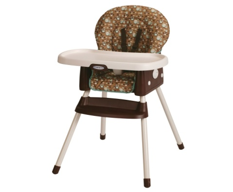 Graco SimpleSwitch Convertible High Chair and Booster, Little Hoot - Baby Booster Chair
