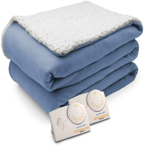 Biddeford comfort natural electric blanket - Electric Throw Blankets