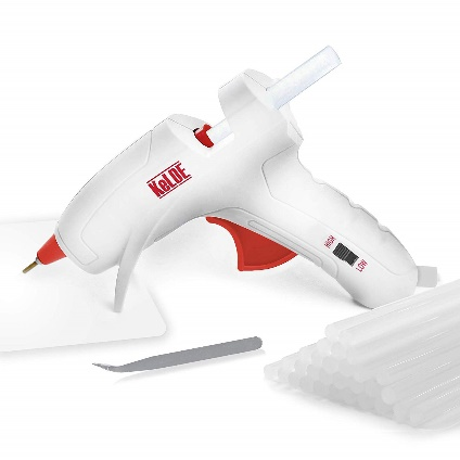 Dual Temperature Hot Glue Gun Kit, KeLDE UL Certified Mini Adjustable Melting Glue Gun