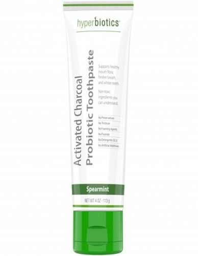 Probiotic charcoal toothpaste