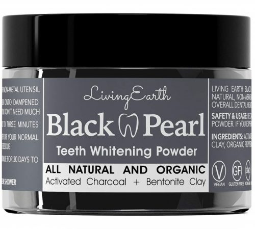 Black pearl charcoal toothpaste
