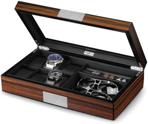 Lifomenz Co Watch Jewelry Box for Men - Men's Jewellery Boxes