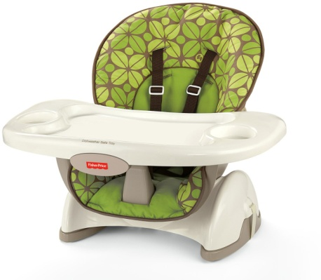 Fisher-Price SpaceSaver High Chair, Rainforest Friends - Baby Booster Chair