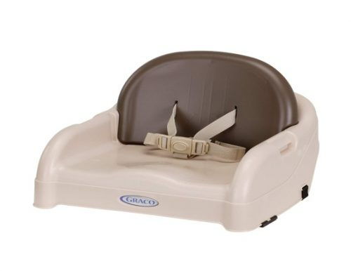 Graco Blossom Booster Seat, Brown/Tan - Baby Booster Chair