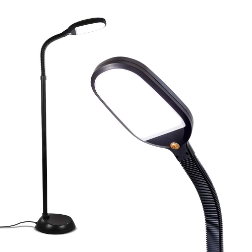 Brightech Litespan - Bright LED Floor Lamp for Crafts & Reading