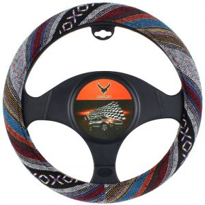 AOTOMIO 15 inch Car Steering Wheel Cover